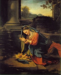 The Adoration by Correggio